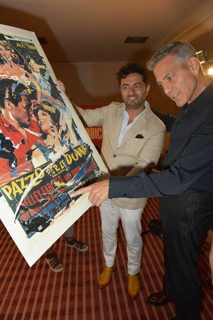 Il Premio Rotella Venezia 74 a George Clooney