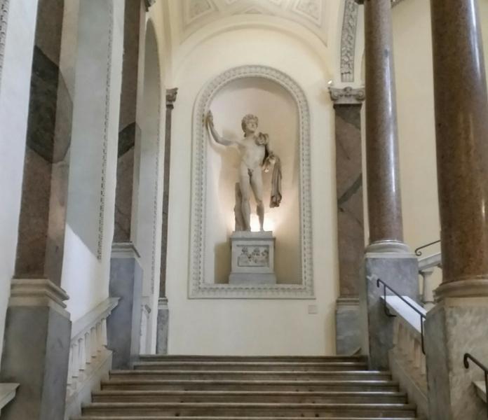 museo di roma palazzo braschi scalinata