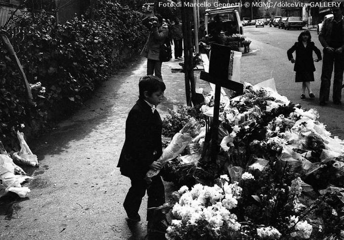 Foto Marcello Geppetti © MGMCdolceVita GALLERY. Caso Aldo Moro. 1978