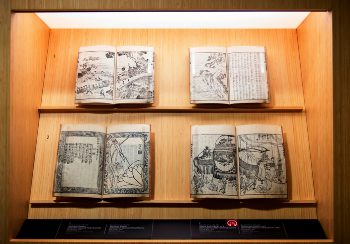 MAO-Hokusai- vetrina