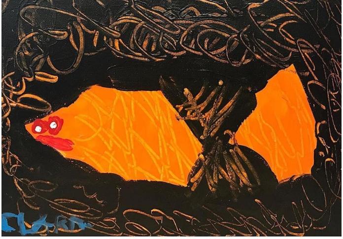 Clara Woods Klee's_magic_fis_30x40