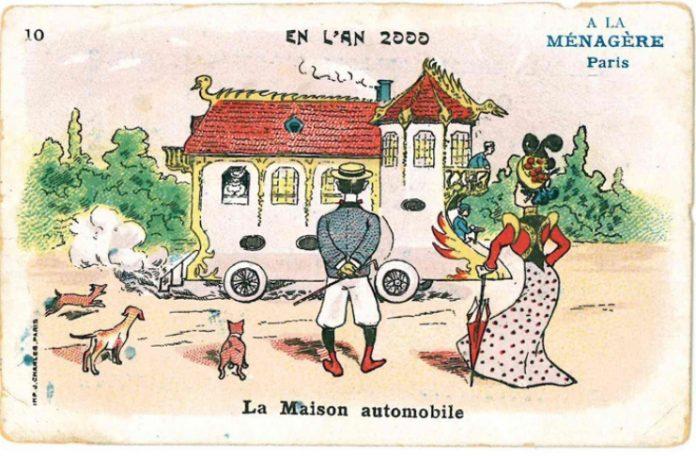 Vero o falso La casa automobile ca. 1900