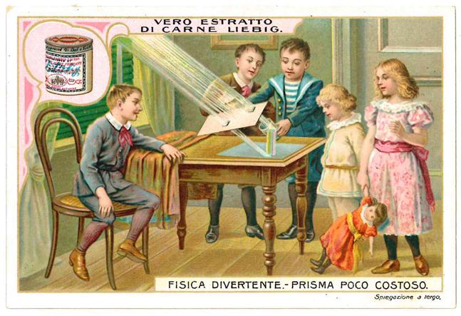 Vero o falso Prisma poco costoso c.a 1904