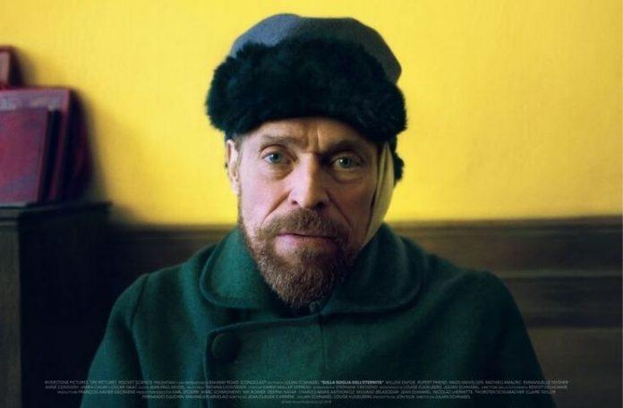 Van goh interpretato da Willem Dafoe e diretto da Julian Schnabel vinse il Premio Rotella 2018 al Festival del Cinema di Venezia