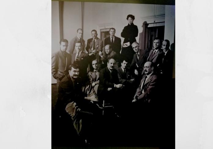 Gli Irascibili (Nina Leen) foto nella mostra di Pollock e la Scuola di New York