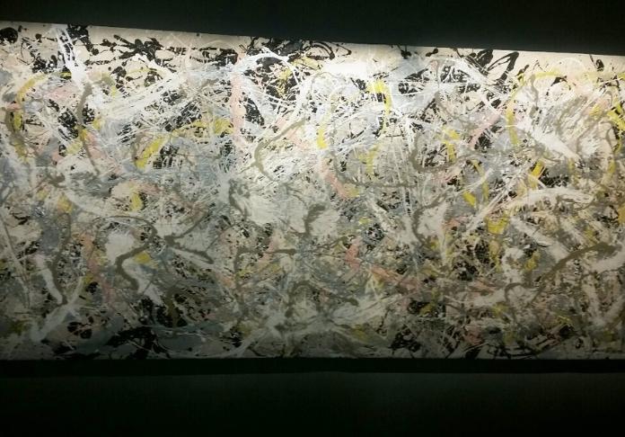 Jackson Pollock Number 27 (ph Emanuela Dottorini dalla mostra al Vittoriano POLLOCK E LA SCUOLA DI NEW YORK)