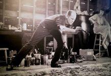 Jackson Pollock foto di Emanuela Dottorini da foto esposta alla mostra Pollock e la Scuola di New York