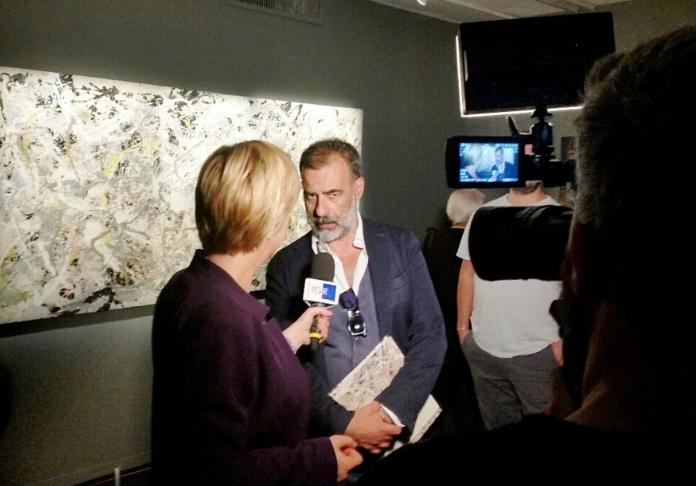 Luca Beatrice uno dei curatori della mostra Pollock e la Scuola di New York