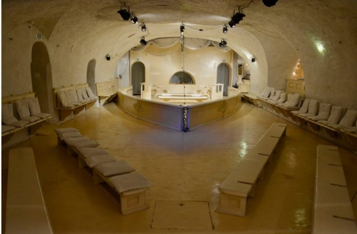 Teatro di Documenti Comunismo, addio; foto di scena Ou Kai