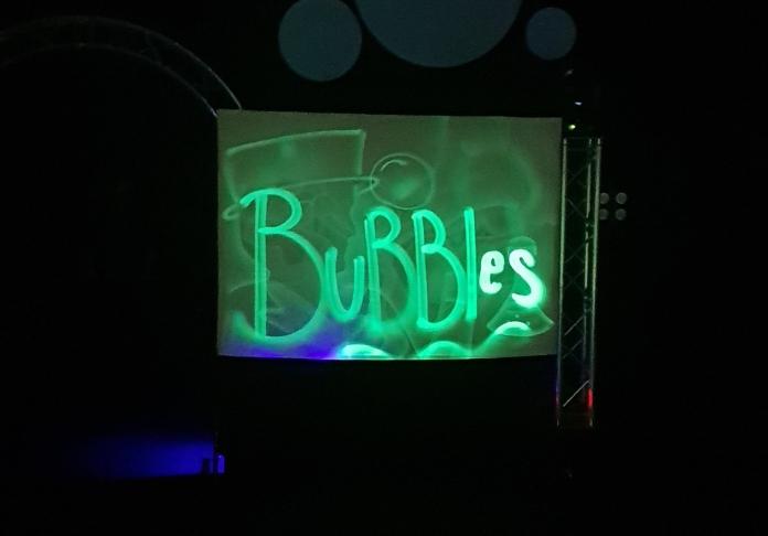 Bubbles disegni di luce