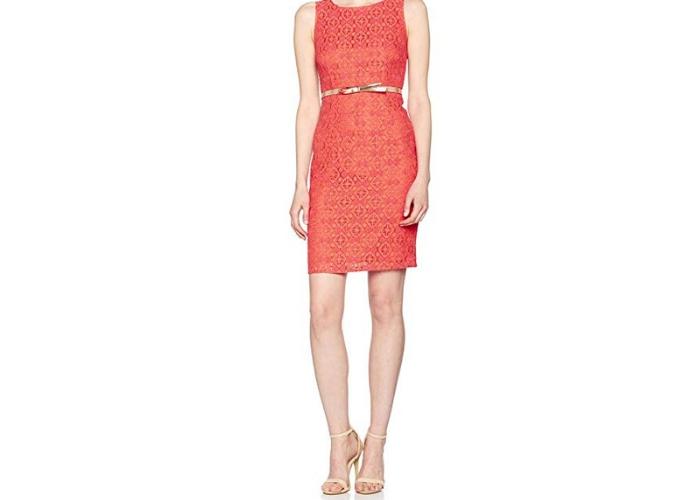 incursione fashion nei saldi abito color corallo