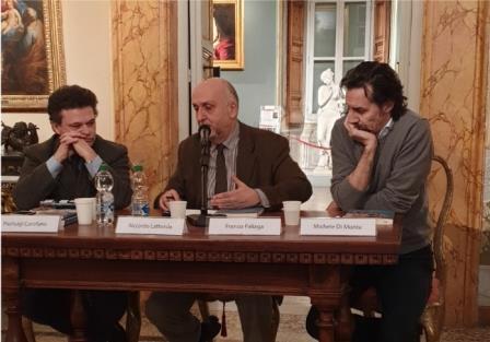 l'enigma svelato tavolo relatori