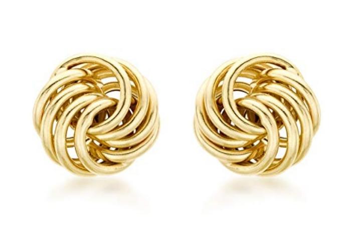 incursione fashion nei saldi orecchini oro