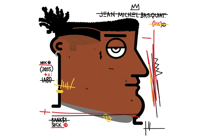 IABO - I want to be an artist Basquiat