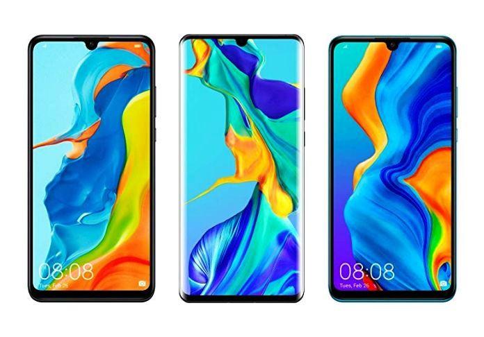 I colori di Huawei P0 e P30 pro