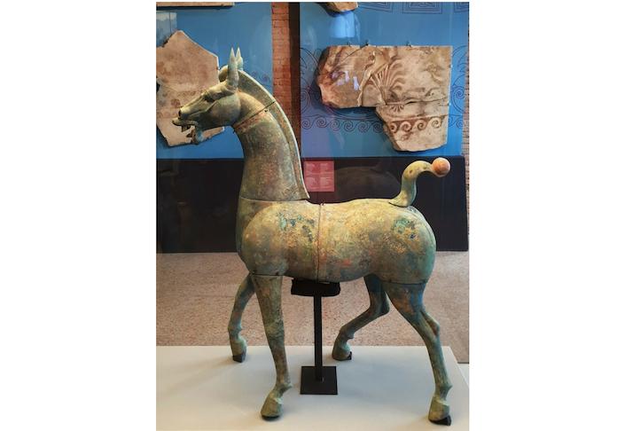 mortali e immortali il cavallo di Mianyang