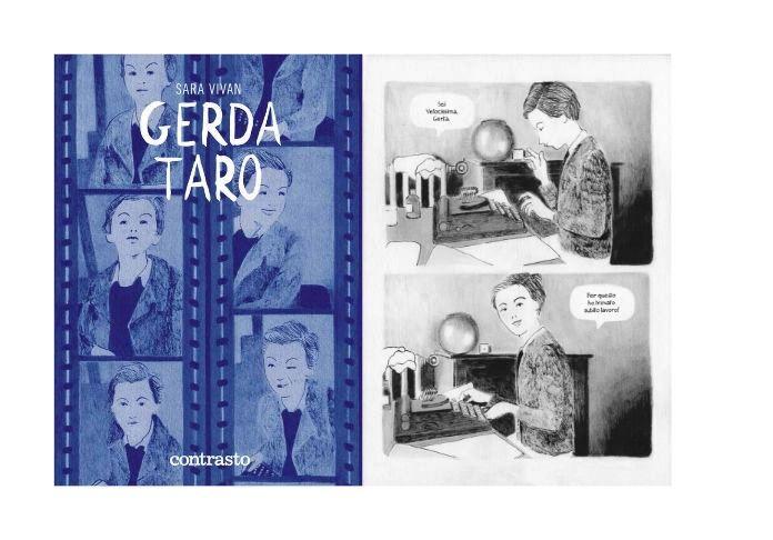 Caldo e cultura vanno d'accordo?Ecco la graphic novel di Sara Vivan, che racconta Gerda Taro, la fotografa pionieristica di guerra, compagna di Robert Capa,.