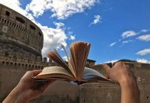 Letture d'estate 2019 ai Giardini di Castel Santa'Angelo, a Roma per l' Estate Romana.jpg