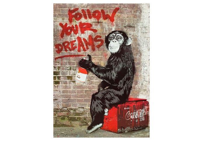 Mr. Brainwash Thierry Guetta Bansky Follow your dreams
