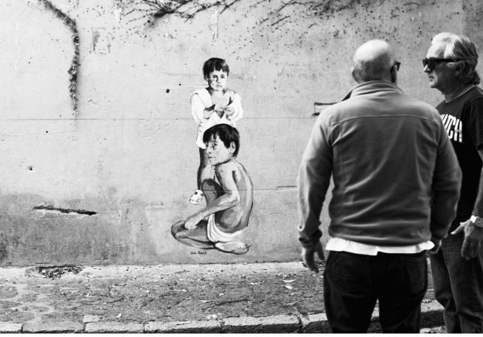 Street art for Bansky