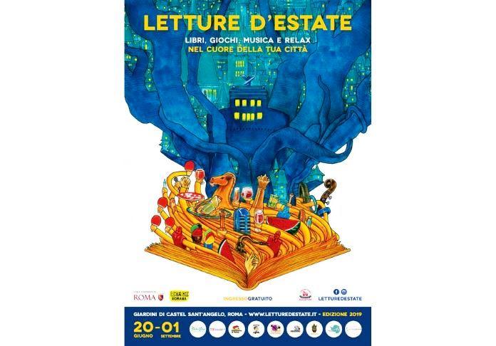 Locandina Letture d'Estate, Estate Romana 2019