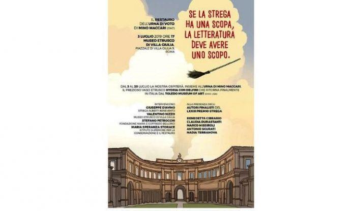 se la strega ha una scopo, la letteratura deve avere uno scopo Mostra temporanea al Museo Etrusco di Villa Giulia