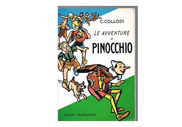 I colori che regalo l'illustratore Attilio Mussino al personaggio di Pinocchio