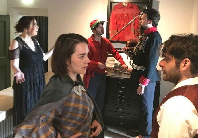 """Scene dalla Visita Guidata Teatralzzat """"Prima che fossero mille"""""""