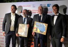 Il 19^ Premio Mimmo Rotella quest'anno premia Giuseppe Capotondi , Donald Sutherland e Mick Jagger per The Burnt Orange Heresy.