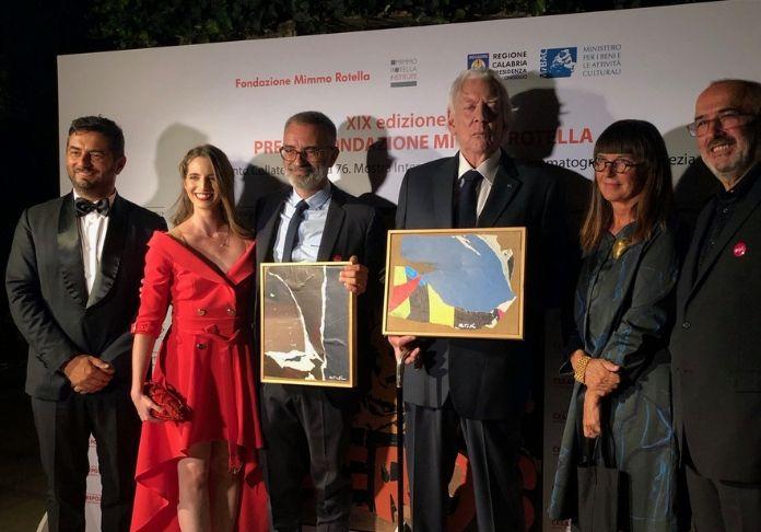 XIX Premio Mimmo Rotella a Venezia 76^ foto gruppo cerimonia