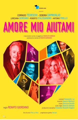 Amore mio aiutami è la commedia di debutto del Teatro Manzoni stagione 2019/2020