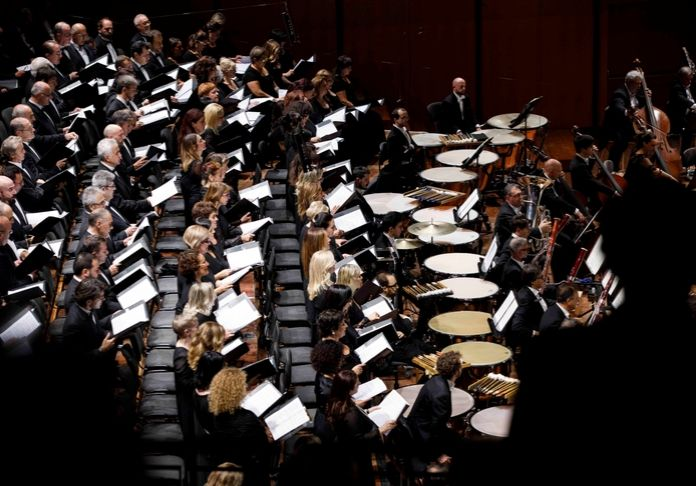 La moltiplicazione delle percussioni nella Grand Messe des Morts di Berlioz al concerto inaugurale della stagione di Santa Cecilia 2019-2020