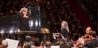 Martha Argerich suona al pianoforte diretta dal maestro Antonio Pappano