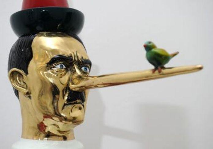 Pinocchio visto da Francesco De Molfetta nella mostra Enigma Pinocchio.Da Giacometti a La Chapelle