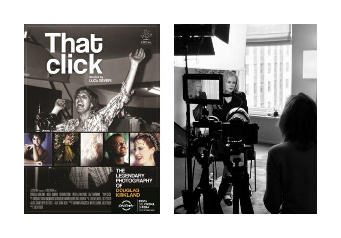 """""""That Click"""" la copertina del docubio e Nicole Kidman tra le celebrità intervistate sulla vita del fotografo Douglas Kirkland"""