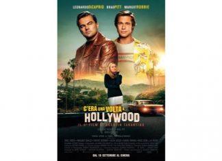 Il poster del film C'era una volta a Hollywood visto da Mycultureinblog