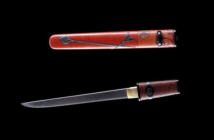 Arma AIKUCHI in mostra a GUERRIERE DAL SOL LEVANTE