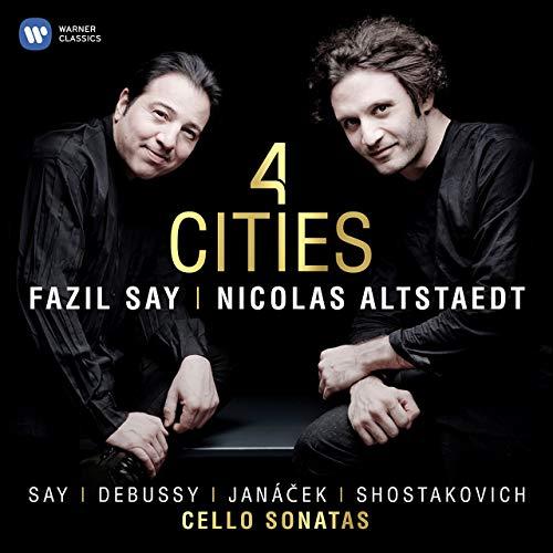 4 Cities è il CD di Nicolas Altstaedt e Fazil Say che  saranno in concerto alla IUC sabato 23 novembre 2019