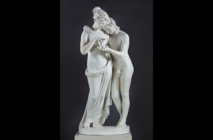 Antonio-Canova-Amore-e-Psiche-stanti nella mostra Canova eterna bellezza