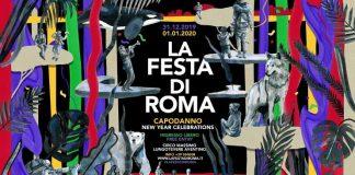 Locandina della festa di Roma Capodanno 2020 di Chiara Fazi sul tema della Madre Terra