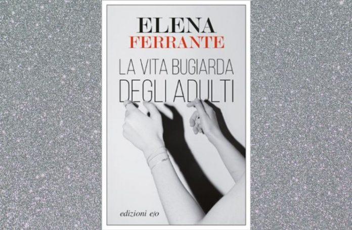 Elena Ferrante con l'ultimo libro