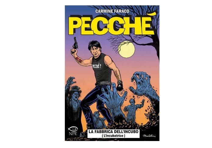 Pecchè è il fumetto degli incubi di Carmine Faraco in scena al Teatro del Lido di Ostia il 20 dicembre 2019 per i suoi 40 anni