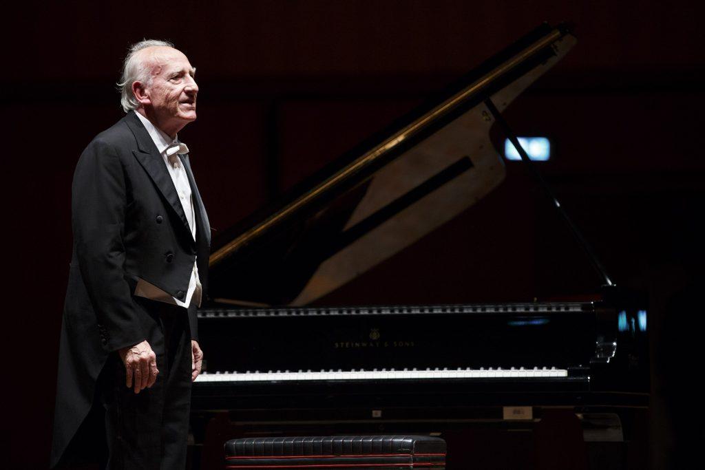 Maurizio Pollini eseguirà alcune Sonate per pianoforte al Parco della Musica per i 250 anni dalla nascita di Beethoven