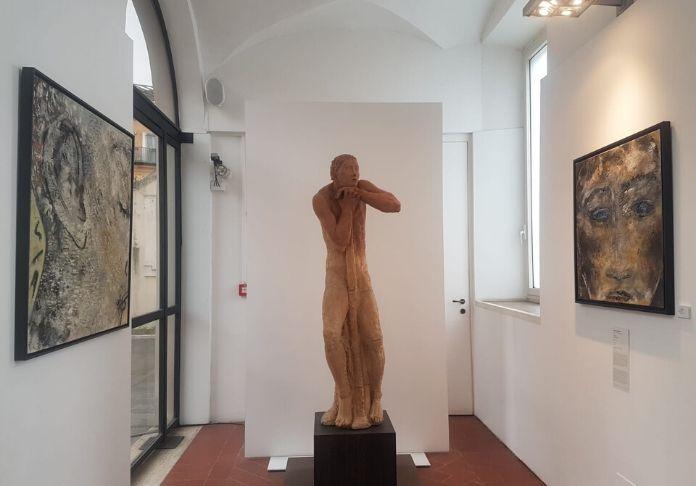 MIRESI ha inserito le sue opere alla GAM di Roma come rimando alla mostra Sguardi e Architetture alla centrale Montemartini