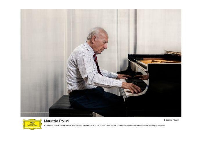 Maurizio Pollini al pianoforte