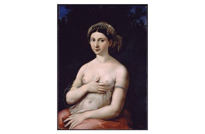 La Fornarina di Raffaello Sanzio si sposta da Palazzo Barberini alla Scuderie del Quirinale per il Cinquecentenario della morte di Raffaello