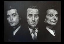 """""""Quei bravi ragazzi"""" disegno noir di Paco"""