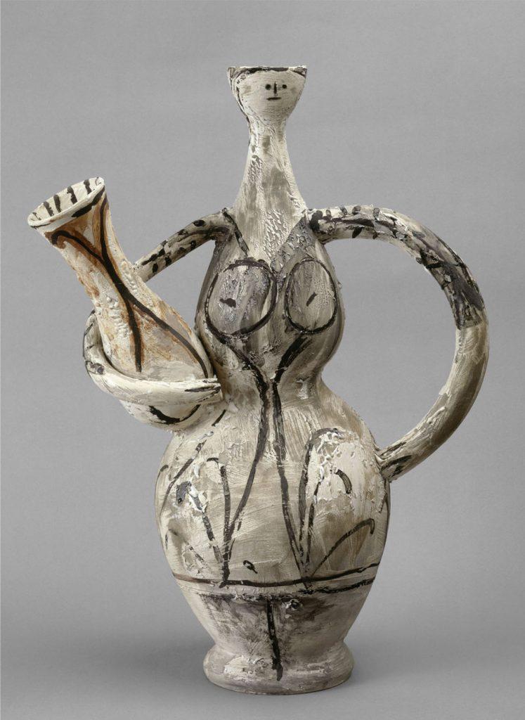 Pablo-Picasso-Vase-femme-à-lamphore-1947-48 al MIC di Faenza