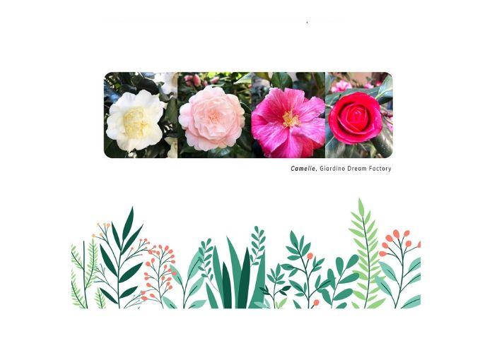 i fiori del giardino di Dream factory come augurio pasquale