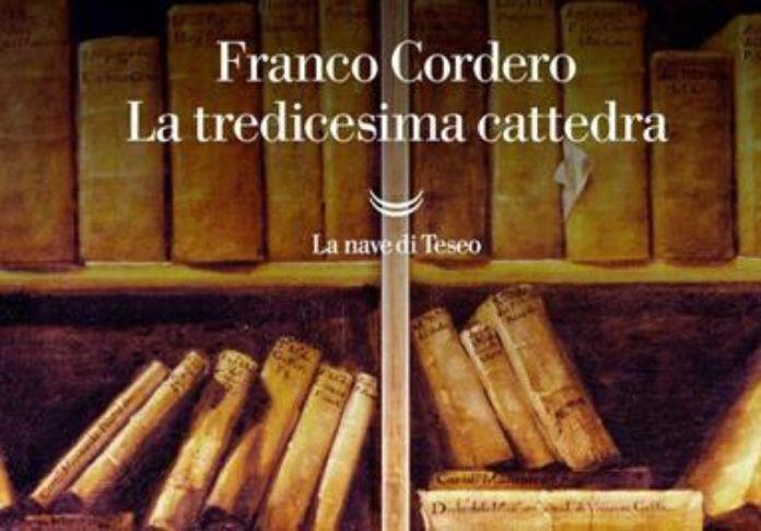 """Franco Cordero ha scritto il suo ultimo romanzo """"La tredicesima cattedra"""""""